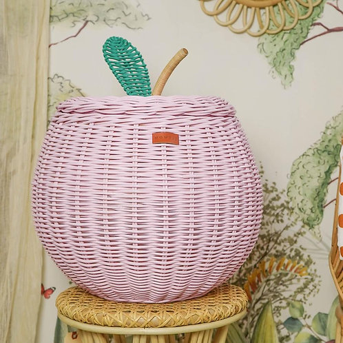 Apple Storage Basket (Pink)