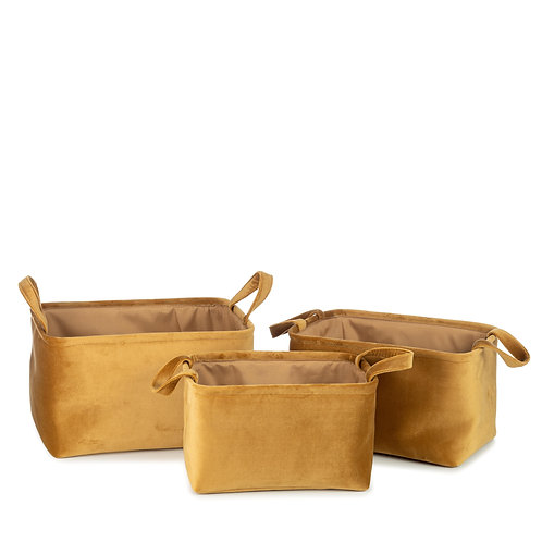 Billie Basket - Set of 3 (Gold)