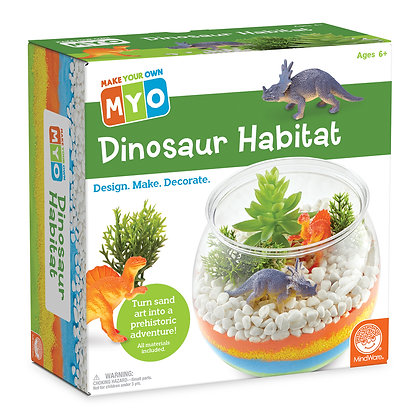 Make Your Own: Dinosaur Habitat: Design, Make, Decorate