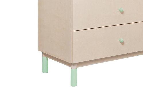 Babyletto Gelato Crib & Dresser Feet Pack (Various Colours)