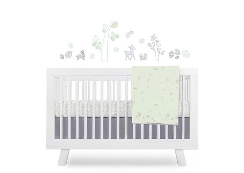 Tranquil Woods 5-Piece Nursery Crib Bedding Set [Available Oct]