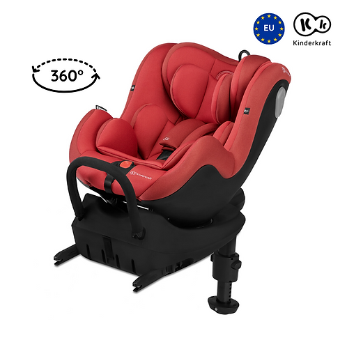 [Showroom Piece] I-360 Car Seat with Isofix (Birth up to 105cm)(Red)