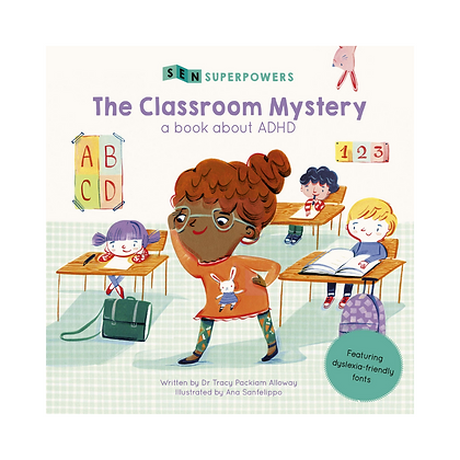 Sen Superpowers: The Classroom Mystery - A Book about ADHD (Paperback)