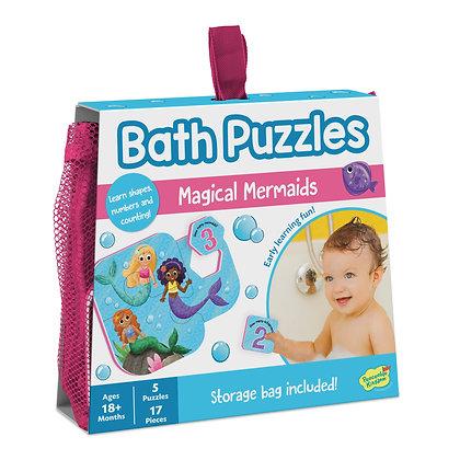 Bath Puzzles: Magical Mermaid  (5 Puzzles)
