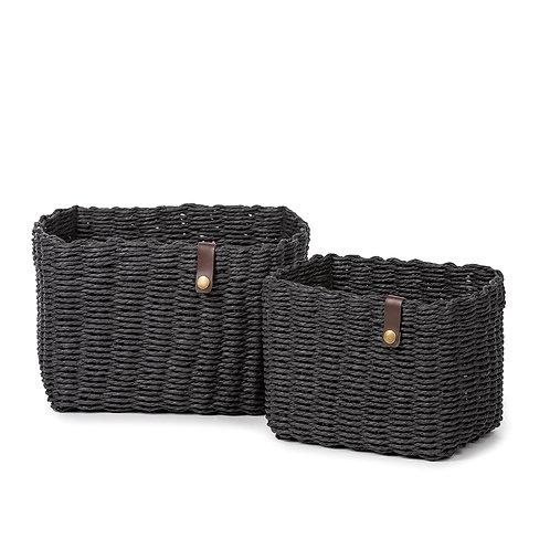Nouk Basket - Set of 2 (Black)