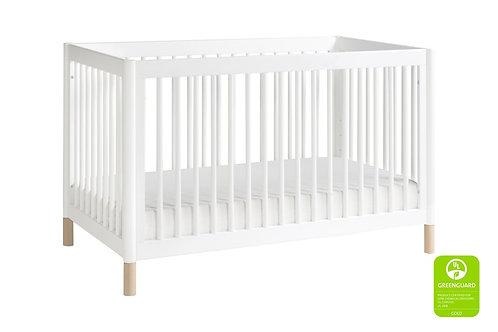 Gelato 3-in-1 Convertible Crib (White)
