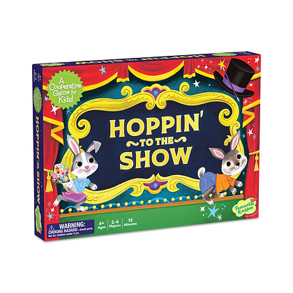Hoppin' To The Show: It's A Race to See the Show!