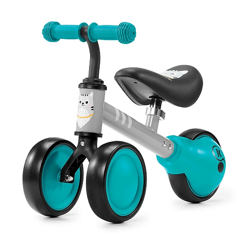 Cutie Mini Balance Bike & Ride-On Toy (For Ages 1+)(Teal)