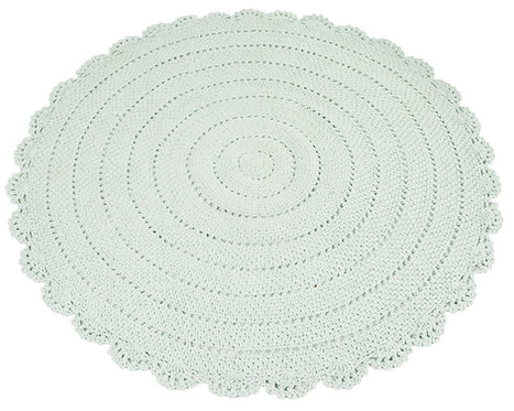 Roundy Rug (Mint) Ø110cm