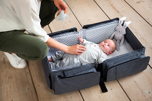 (In Stock) Baby Travel: 2-in-1 Nursery Bag & Carrycot