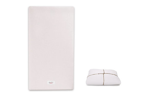 Pure Core Crib Mattress + Dry Waterproof Cover [Firm]