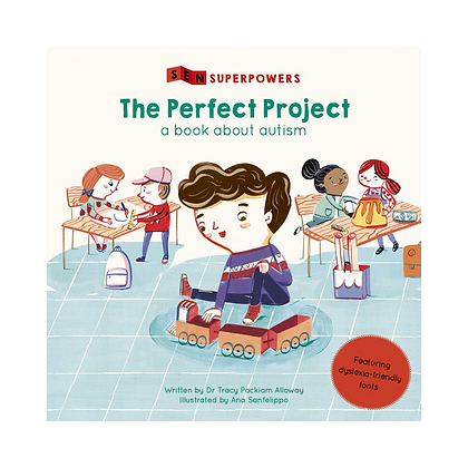 Sen Superpowers: The Perfect Project - A Book about Autism (Paperback)