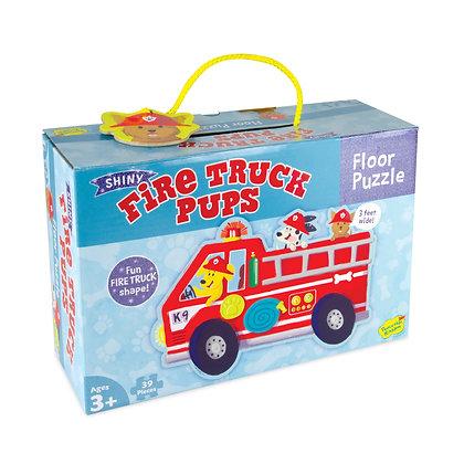 Floor Puzzle: Firetruck Pups (39 Pieces)