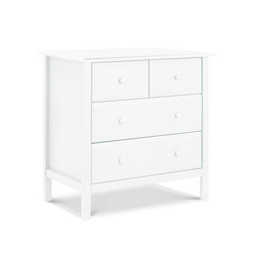 (In Stock) Autumn 4 Drawer Dresser (White)