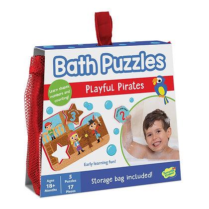 Bath Puzzles: Playful Pirates (5 Puzzles)