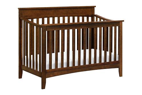 (In Stock) Grove 3-in-1 Convertible Crib (Espresso)