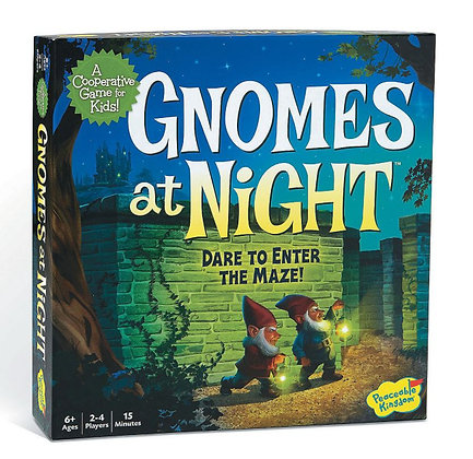 Peaceable Kingdom Gnomes at Night Cooperative Game