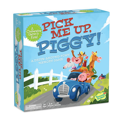 Peaceable Kingdom Pick Me Up Piggy: A Memory Game
