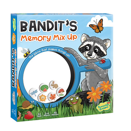 Bandit's Memory Mix-Up: The Game That Shakes Things Up