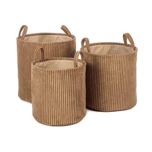 Ebby Basket - Set of 3 (Sand)