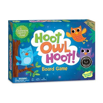 Hoot Owl Hoot: Hurry, Owls, It's Time to Go Home