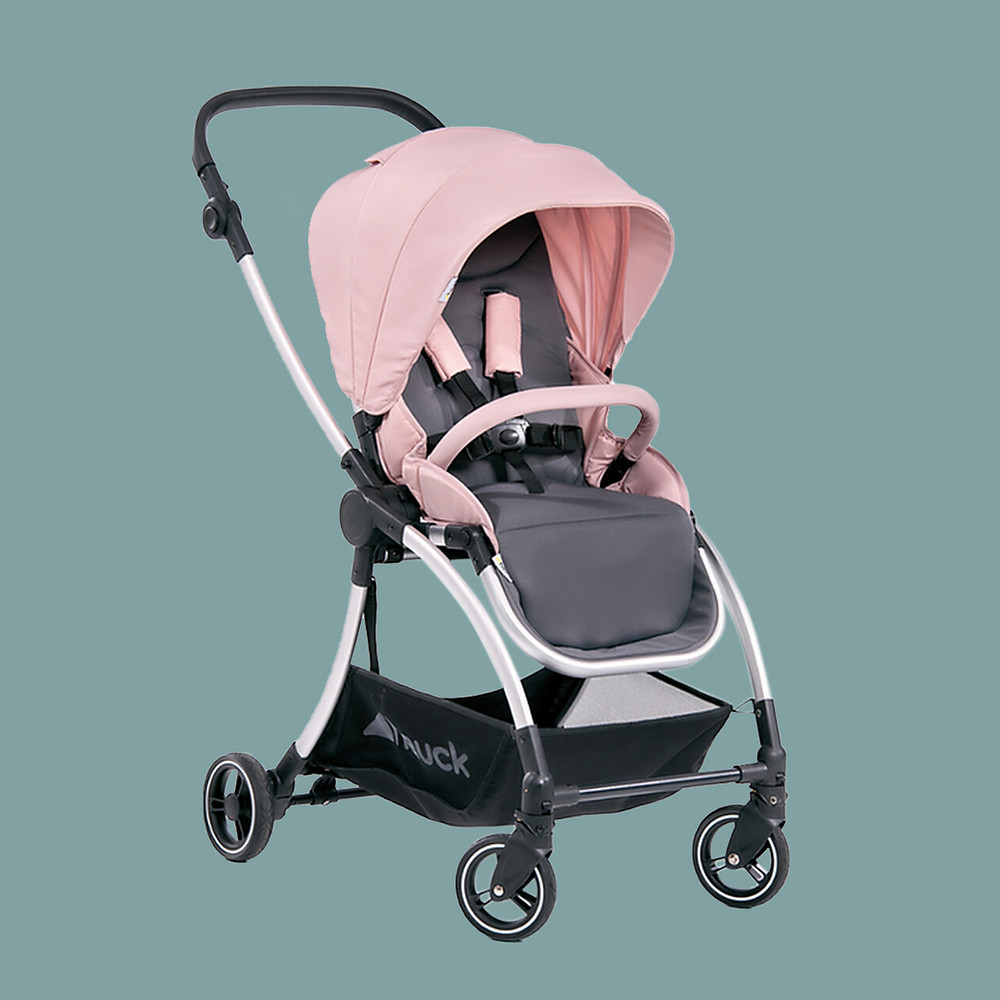 Eagles 4s reversible pink stroller