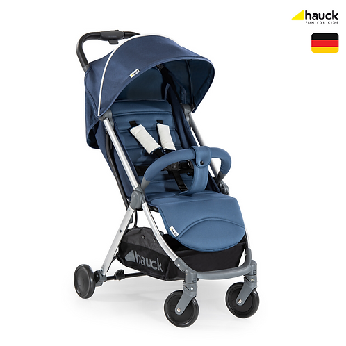 [End of Season Sale] Swift+ Stroller (Blue): Lightweight, One-Hand Fold