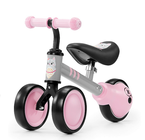 Cutie Mini Balance Bike & Ride-On Toy (For Ages 1+)(Pink)