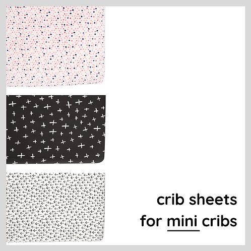 Mini Crib Sheets