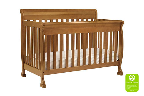 (In Stock) Kalani 3-in-1 Convertible Crib (Chestnut)