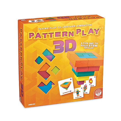 Pattern Play 3D: Taking Play to Another Dimension