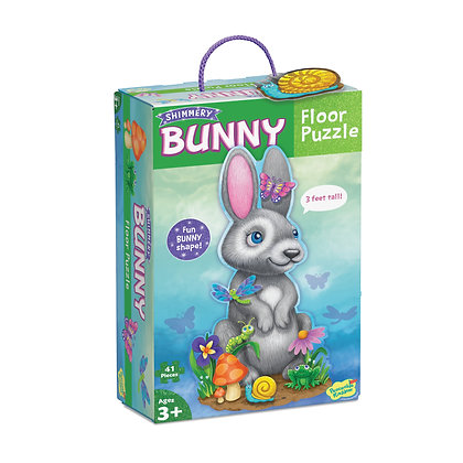 Floor Puzzle: Bunny (41 Pieces)