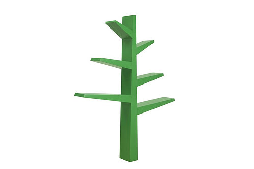 (In Stock) Spruce Tree Bookcase (Green)