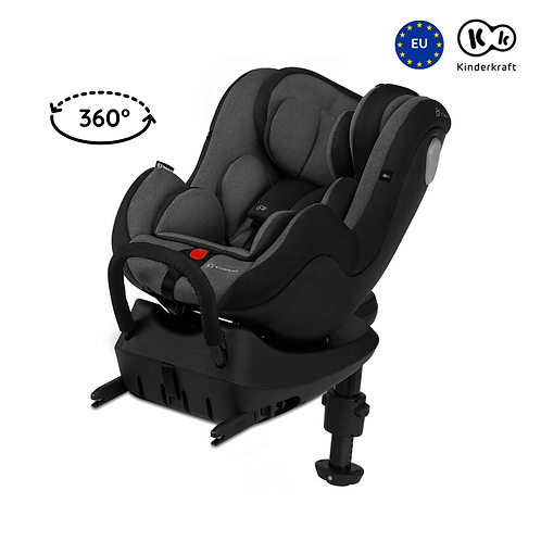 I-360 Car Seat with Isofix (Birth up to 105cm)(Black)