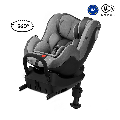 I-360 Car Seat with Isofix (Birth up to 105cm)(Grey)