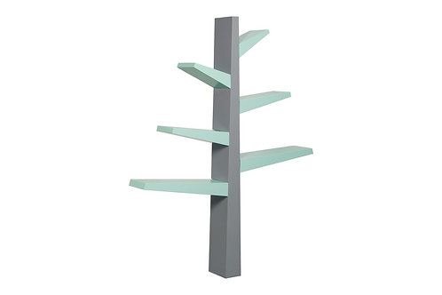 Spruce Tree Bookcase (Grey/Mint)