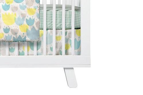 Tulip Garden Crib Skirt