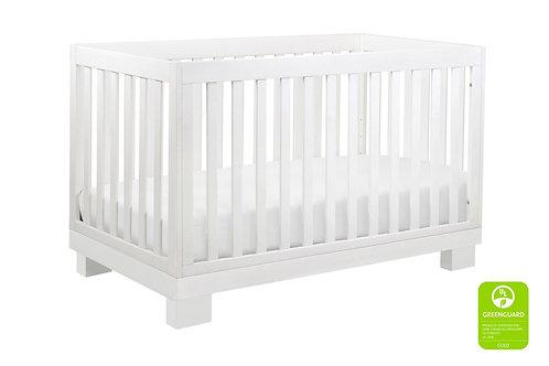 Modo 3-in-1 Convertible Crib (White)