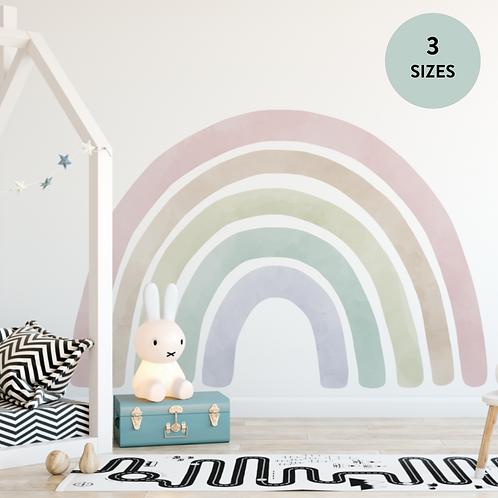 [AS-IS] Jumbo Rainbow Fabric Wall Decal - S (80x50cm)