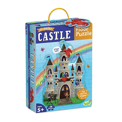 Floor Puzzle: Castle (48 Pieces)