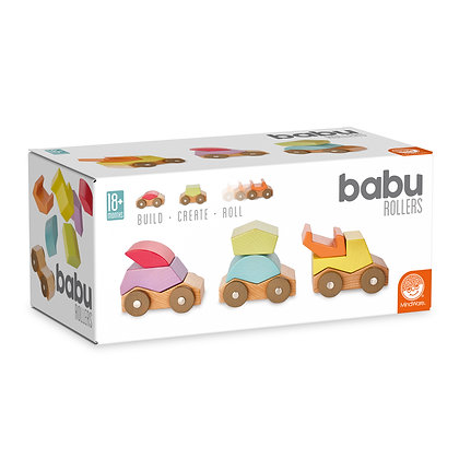Babu Rollers: Build, Create, Roll