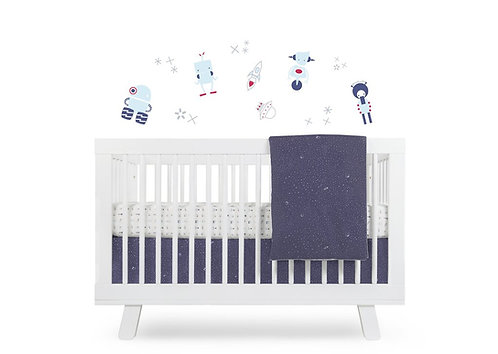 Galaxy 5-Piece Nursery Crib Bedding Set