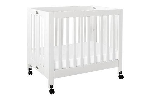 (In Stock) Origami Mini Crib (White)