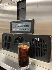 Iced Coffee Beverage with Coffee Ice Mac