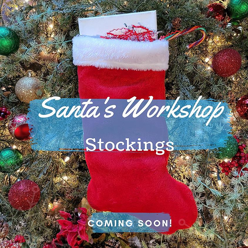 Santa's Workshop Stockings!