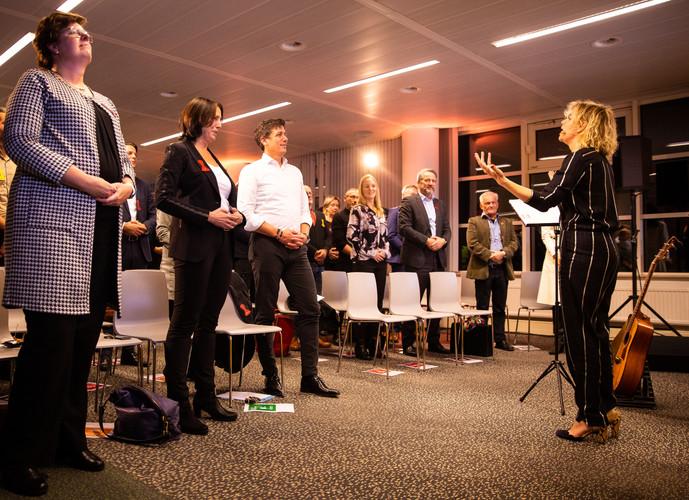 SBB bijeenkomst o.a. met MKB-voorzitter Jacco Vonhof