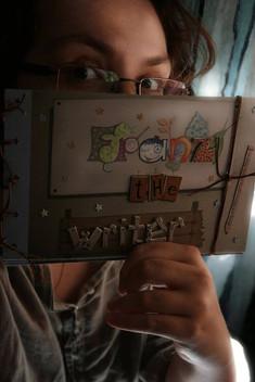 franz, the writer - handmade book