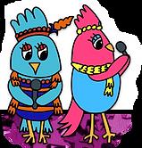 clipart of divas chicks.png