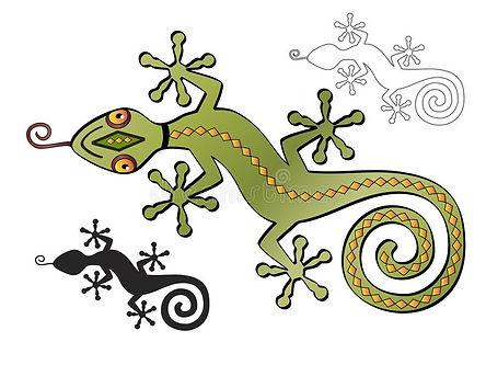 decorative-southwestern-lizard-silhouett