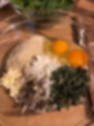 Sage Turkey Meatball Ingredients